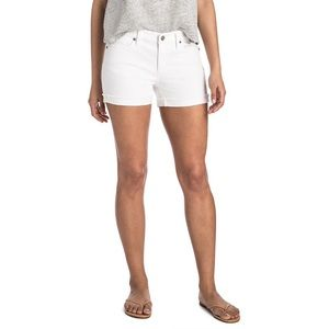 Vineyard Vines White Raw Cuffed Shorts Size 6